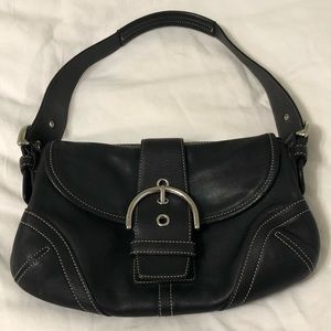 COACH Bags - COACH Shoulder G04s-9247 Black Leather Hobo